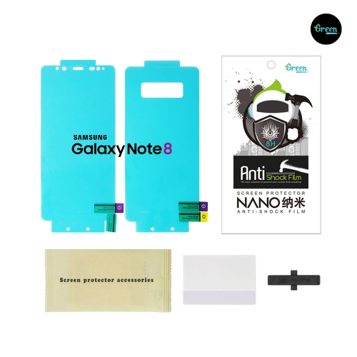 Galaxy Note 8 N950F | Nano Clear Full Cover Anti-Shock TPU Film Screen Protector