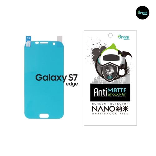 Galaxy S7 Edge G935F | Nano Matte Full Cover Anti-Shock TPU Film Screen Protector