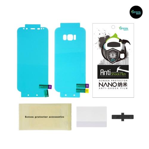 Galaxy S8 G950F / S8 Plus G955F | Nano Clear Full Cover Anti-Shock TPU Film Screen Protector